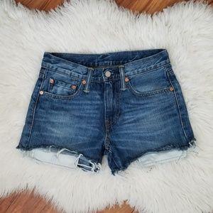 Vintage Levi's 511 cut off shorts